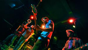 Naked Gods performing at Local 506