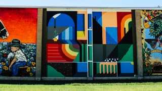 Downtown Bryan Murals