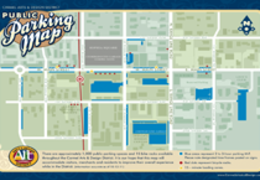 Carmel District Parking Map