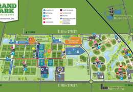 Grand Park Map for Colts Training Camp