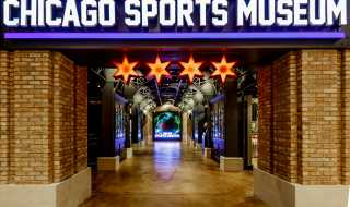 Entrance to the Chicago Sports Museum