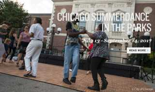 Chicago SummerDance in the Parks 2017 Schedule