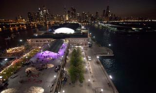 Navy Pier Rooftop Terrace