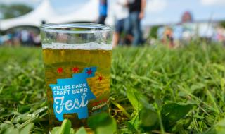 Beer sample from Welles Park Craft Beer Fest