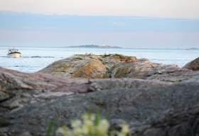 Svaberg i Byfjorden i Kristiansand