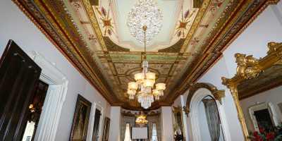 Culbertson Mansion interior