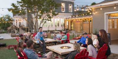Parlour outdoor beer garden