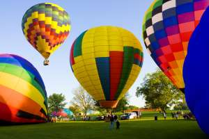 City Park Hot Air Balloons
