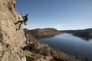Rock Climbing Horsetooth Fort Collins