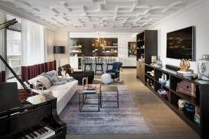 The Elizabeth Hotel - Music Suite Living Room