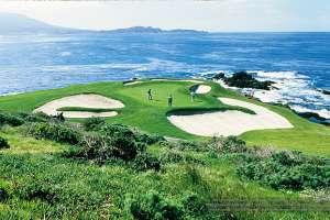 Golf in Pebble Beach