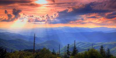 Smokies Sunset