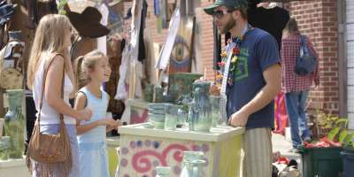 Asheville Gets Crafty with Local Bazaars