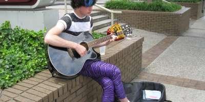 Asheville Street Musician