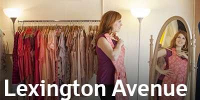 Lexington Avenue Shopping