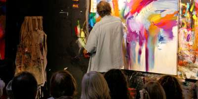 Jonas Gerard Paints Live