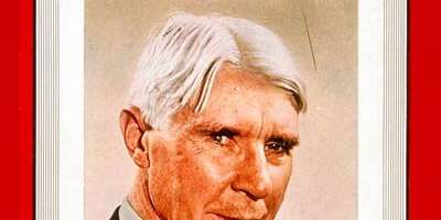 The Day Carl Sandburg Died