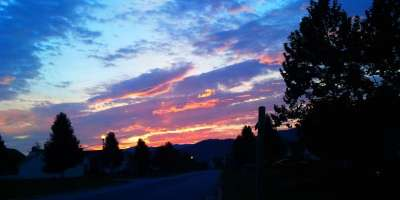 Photo of the Day: Morning Sky Over Western North Carolina
