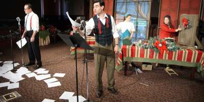 The Curtains Go Up on Holiday Productions