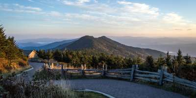 View from Mt. Mitchell