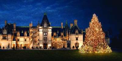 Christmas Lights at Biltmore thumbnail