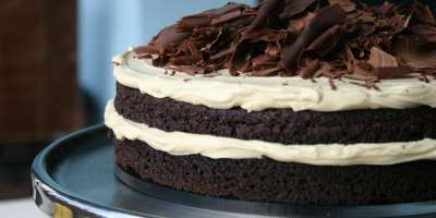 French Broad Chocolate Lounge Stout Cake
