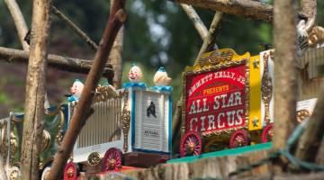 Morris Arboretum Circus Train