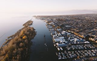 Aerial View of Steveston