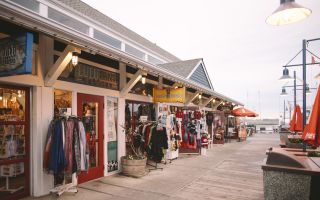 Shopping in Steveston