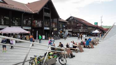 Geilo sentrum in summer