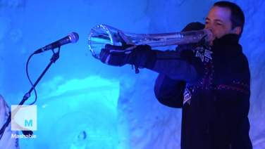 Sights and sounds from Norway's annual Ice Music festival   Mashable