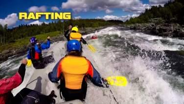 FULL ON - RAFTING & JUVVANDRING - GEILO