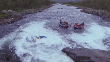 Serious fun rafting
