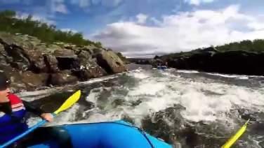 Rafting Norway Dagali 2014 GoPro hero3+ HD