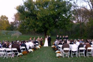 Wedding Ceremony at White Oak Vineyards