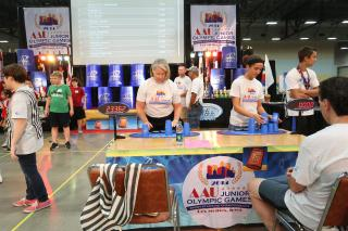 AAUJO Cup Stacking Des Moines