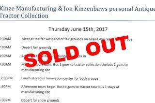 Kinze Tour