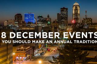 Des Moines December Events