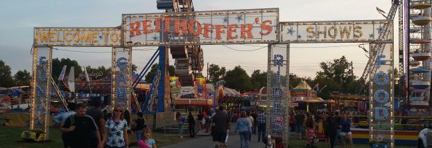 Great Frederick Fair Rides