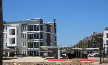 New/multi-phase construction housing project – adds more than 300 new housing units to New Braunfels