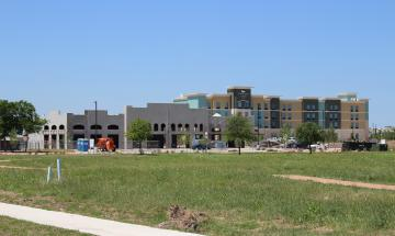 Retail space at Creekside Crossing and FM 1101