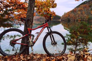 Singletracks Features Carvins Cove