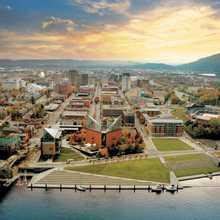 Riverfront Scenic Aerial