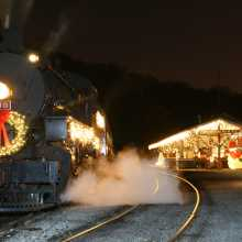 Tennessee Valley Railroad Museum's North Pole Limited Adventures