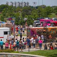 Food Trucks at the Fountain