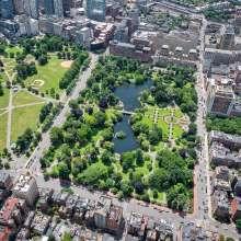 Public Garden Aerial