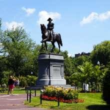 Washington Statue Public Garden