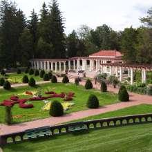 Gardens & Mansion State Historic Park Italian garden
