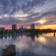 Downtown Augusta Skyline