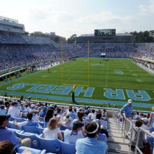 Kenan Stadium, UNC Football